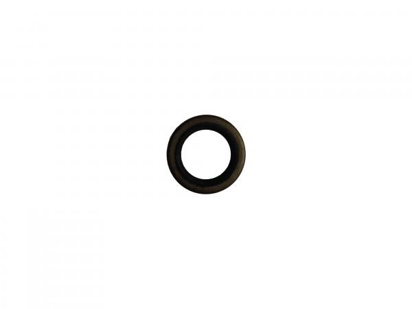 Abstreifer mit Metallkäfig 16x24x3/4