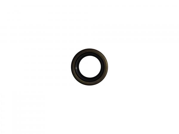 Abstreifer mit Metallkäfig 20x30x7/10