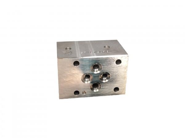 Zwischenplatte Sperrzwischenplatte B Nenngröße 6 mit C10-2