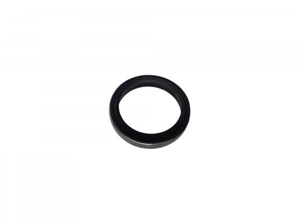 Abstreifer mit Metallkäfig 35x45x7/10