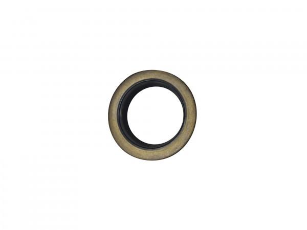 Abstreifer mit Metallkäfig 28x40x7/10