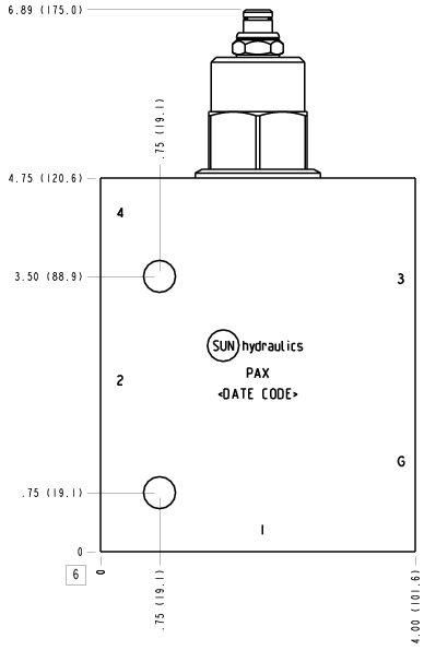 CWGA-LIN-PAX Senkbremshalteventil