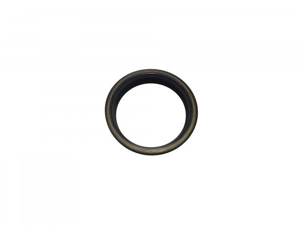 Abstreifer mit Metallkäfig 36x46x5/8
