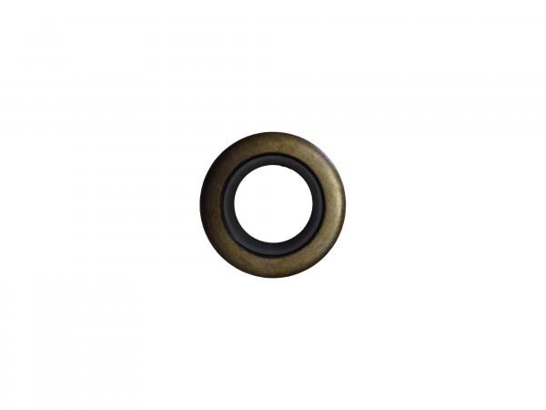 Abstreifer mit Metallkäfig 16x26x5/8