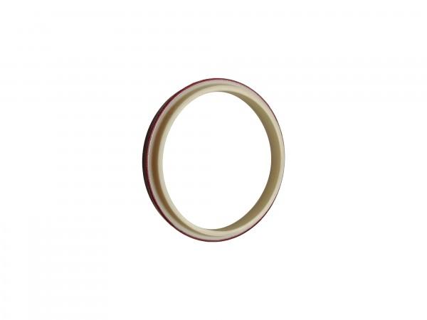 Abstreifer mit Metallkäfig 120x130x7/10