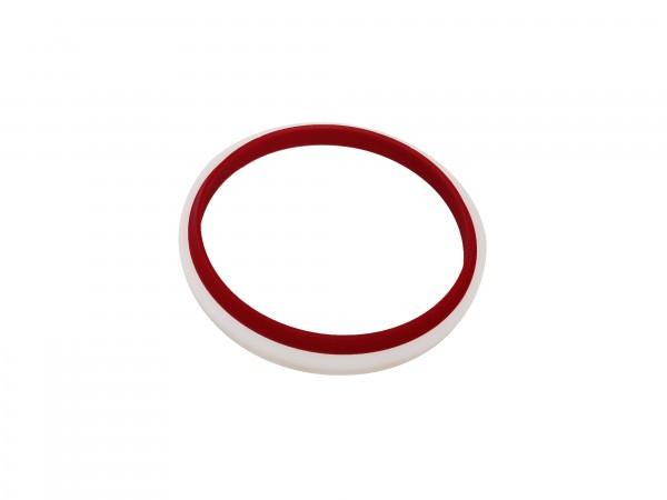 Abstreifer mit Kunststoffkäfig 90x104x8/12
