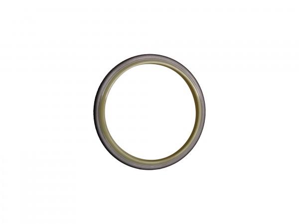 Abstreifer mit Metallkäfig 75x90x8
