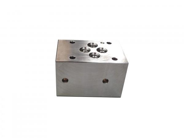 Zwischenplatte A mit Sitzventil Nenngröße 6 und C10-2